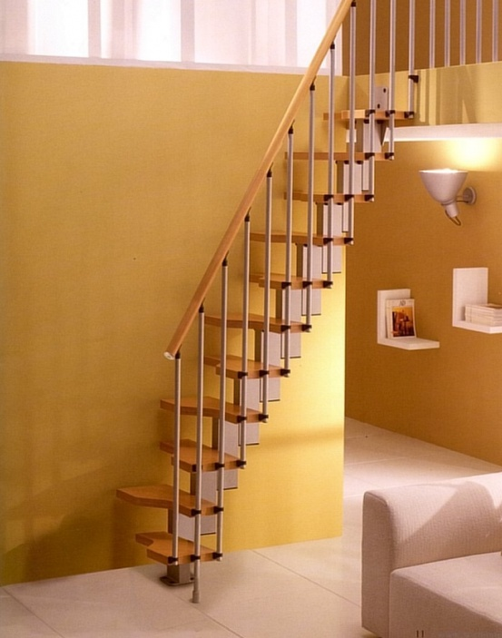 Loft spiral staircases