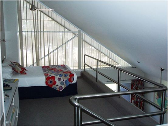 Mezzanine floor spiral staircases