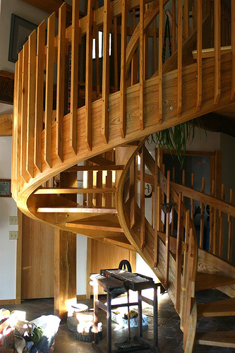 The lowdown on spiral staircase kits