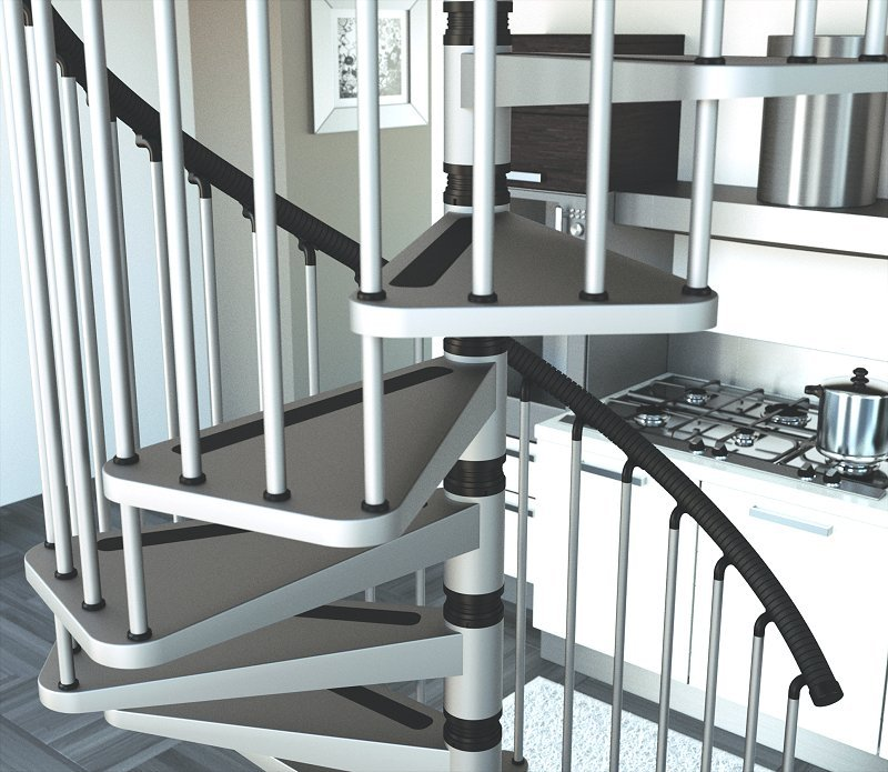 Inspirational Stairs Design: A Spiral Staircase…for Cats?