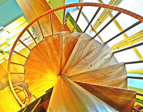 Finishes Available for Spiral Staircases