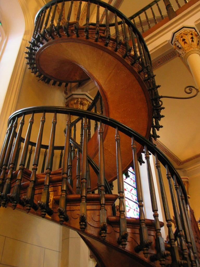 Spiral staircase Loretto Chapel Santa Fe