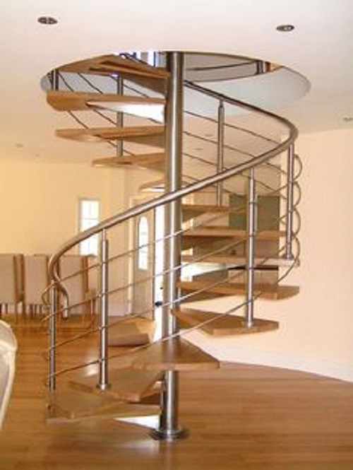 Glossary of terms for a spiral staircase