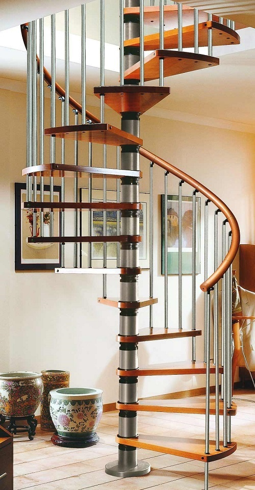 Colour Options for Spiral Staircases