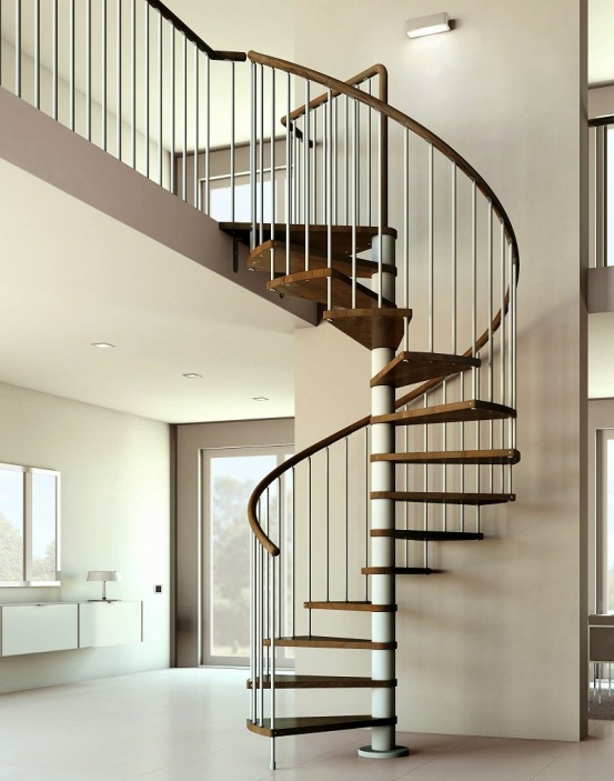 Spiral Staircase finishes and colour options