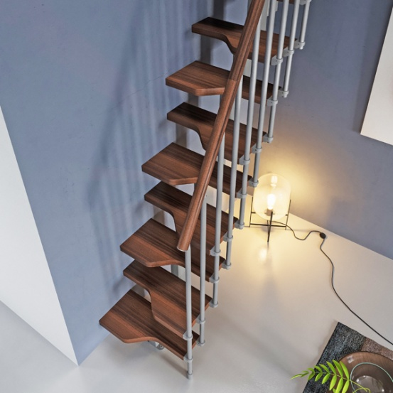 How does a Space Saver Staircase kit work?
