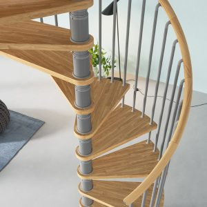 The Gamia Deluxe spiral staircase, our no. 1 best seller for 14 years!