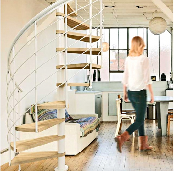 Spiral Staircases and UK Building Regulations