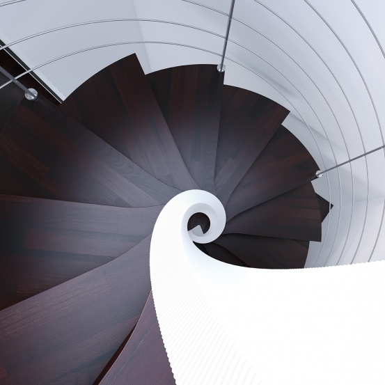 Spiral Staircase colour options